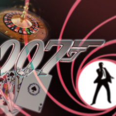 Part of our 007 Display