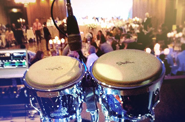 Bongo drums at Adelaide function