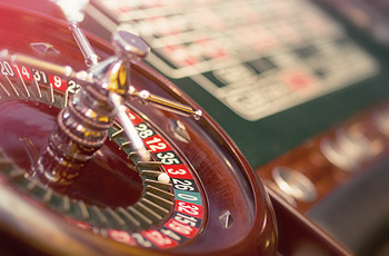 Casino tables and dealers